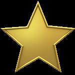 Goldener Künstlerrente Stern